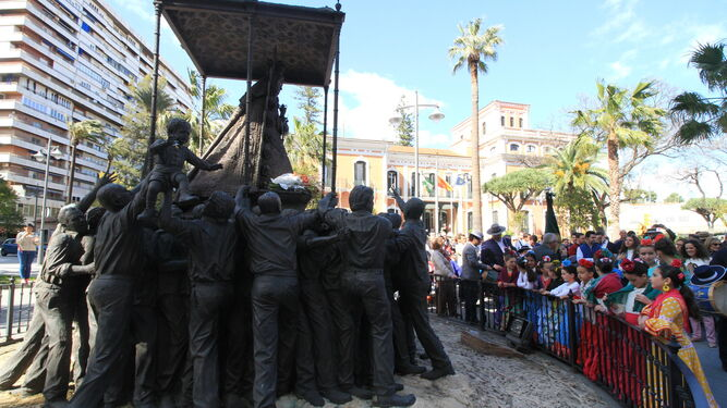 Monumento a Nuestra Señora del Rocío, que será el centro de los actos que se programan para el mes de noviembre.
