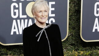 <p>Glenn Close, de Armani Privé.</p>