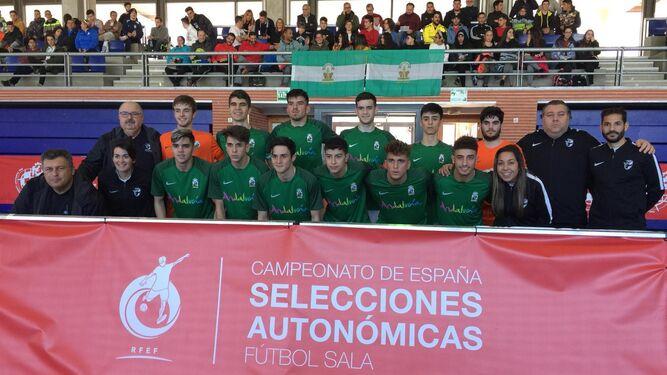 52befae176e17 La selección andaluza de fútbol sala vence a Aragón en su debut en ...