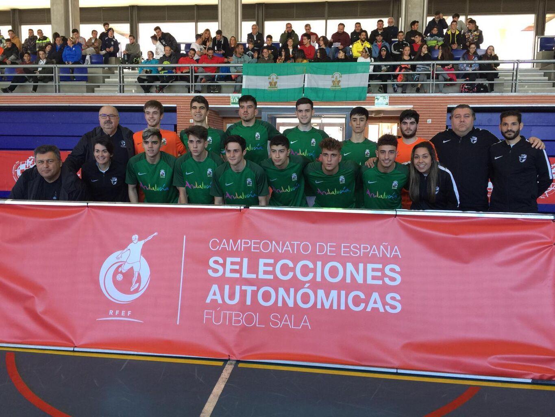93635176625ec La selección andaluza de fútbol sala vence a Aragón en su debut en el  Nacional sub 16 (5-2)
