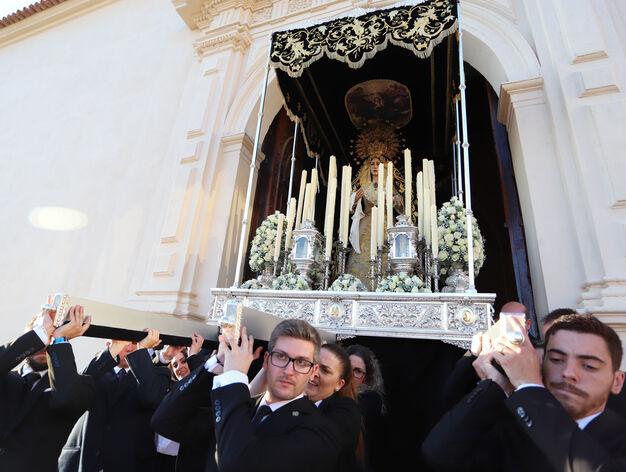 Resultado de imagen de ROSARIO EXTRAORDINARIO SOLEDAD DE MARIA DE HUELVA