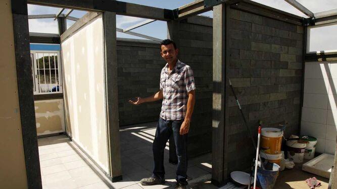 El emprendedor cartayero, Juan Manuel Medrano.