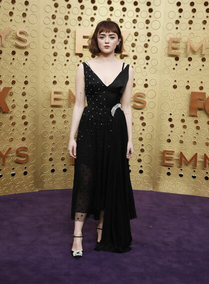 <p>Maisie Williams de <strong>JW Anderson</strong></p><br>