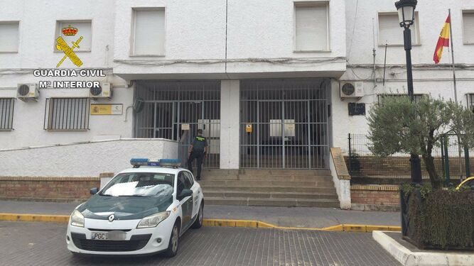 Puesto de la Guardia Civil en Almonte.