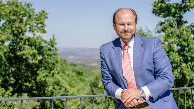 El presidente de la DOP Jabugo, Guillermo García-Palacios.