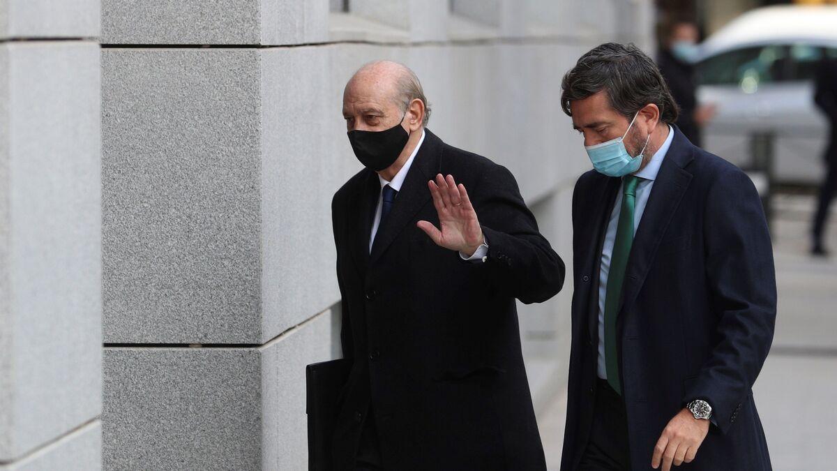 Fernández Díaz y su ex número dos se enrocan en un tenso careo