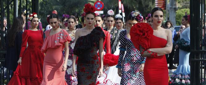 El traje de flamenca, propuesto como...