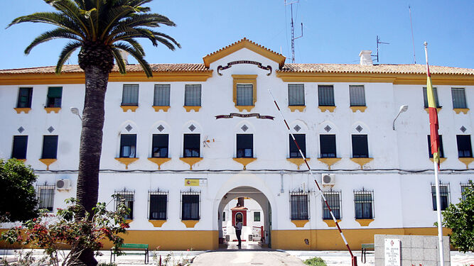 Puesto de la Guardia Civil de Ayamonte.