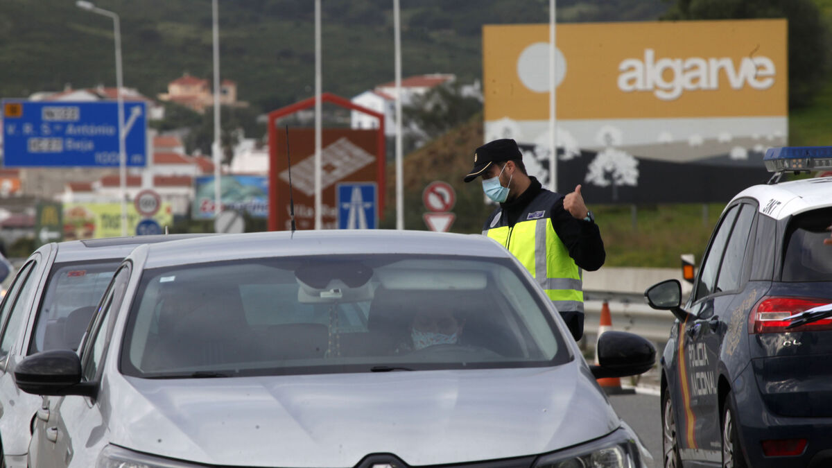 Coronavirus Huelva: España prorroga los controles en la frontera con Portugal hasta el 16 de marzo