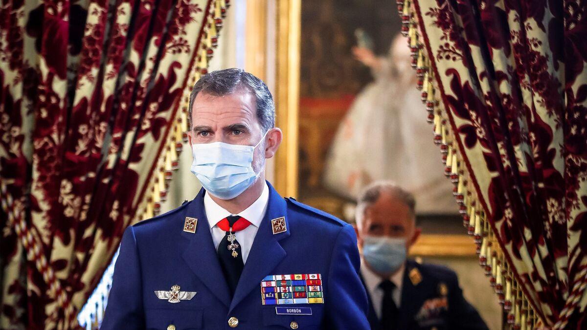 """Casa Real se desvincula de la vacunación de las infantas y asegura que Felipe VI y su familia lo harán """"cuando toque"""""""