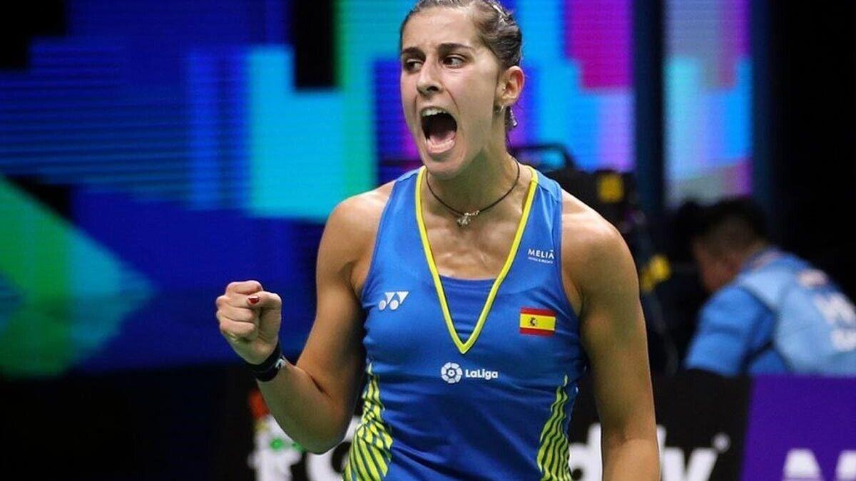 Carolina Marín alcanza los cuartos de final del Abierto de Suiza tras vencer a Jakobsen