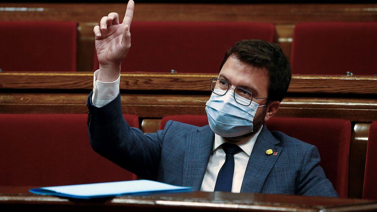 """Aragonès garantiza un mandato de diálogo, pero pide al Estado que """"haga los deberes"""""""
