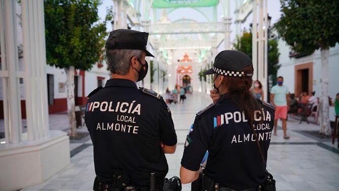 Indignación en la Policía Local de Almonte por la contratación de vigilancia privada