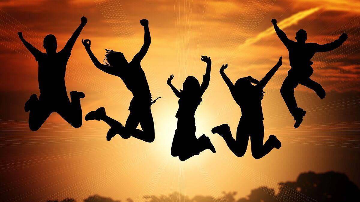 La felicidad de ser feliz.