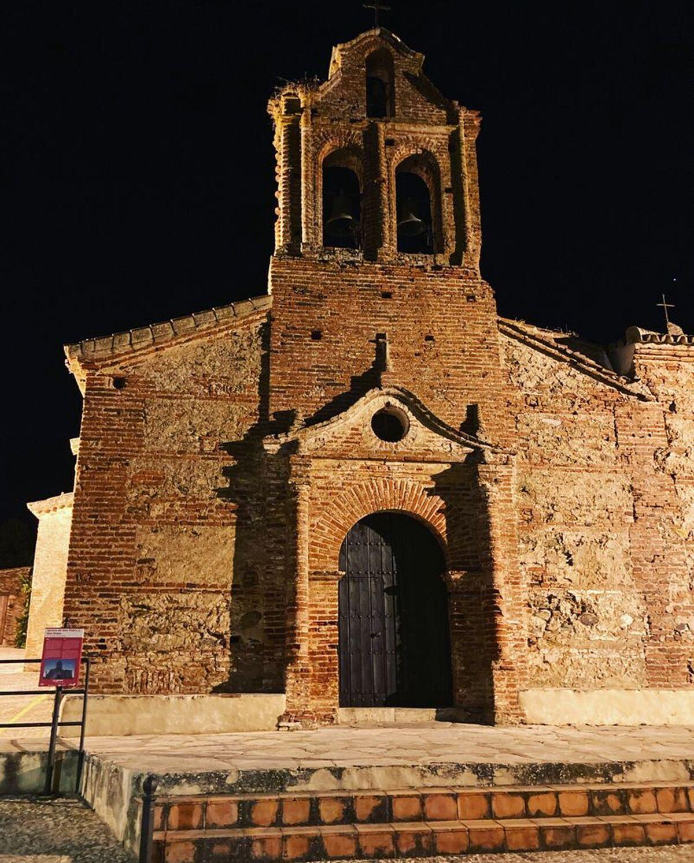 Iglesia del siglo XIV, declarada Bien de Interés Cultural.