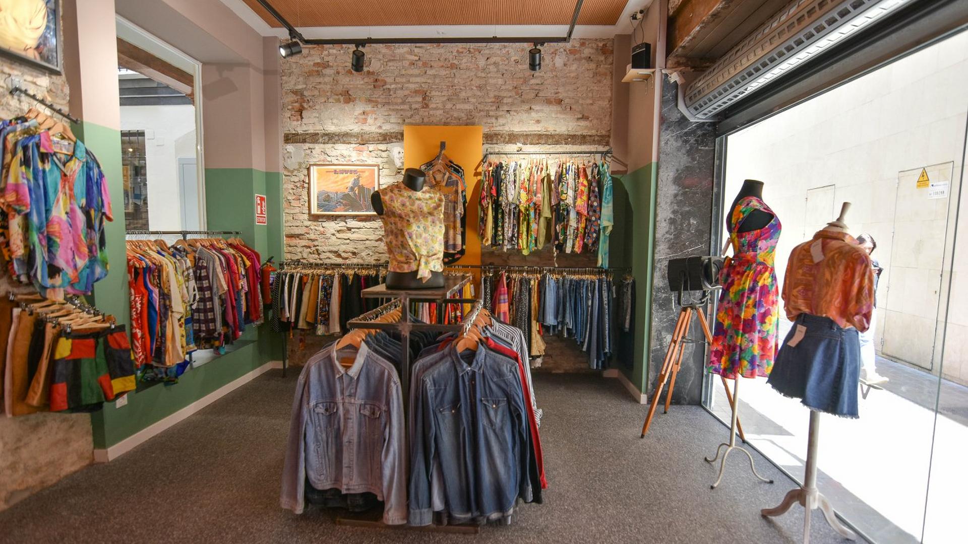 Tiendas de ropa vintage en Sevilla...
